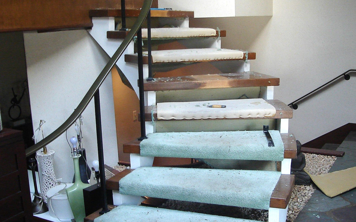 mcm stairs renovation modernsim marrone