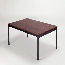 Rosewood Dining Table Waeckerlin Behr German modern 50s